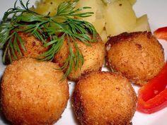Sýrové kuličky s česnekem a bylinkami Cornbread, Baked Potato, Food And Drink, Potatoes, Baking, Ethnic Recipes, Millet Bread, Patisserie, Potato