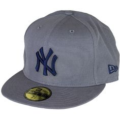 New Era Washed Out New York Yankees Cap graphite/navy