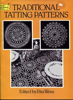 Traditional Tatting Patterns for Tatted by OnceUponAnHeirloom, $5.95