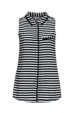 Only - Streifenbluse Tops, Design, Women, Style, Fashion, Stripes, Swag, Moda, Fashion Styles