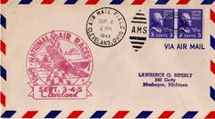 flat-out gorgeous. love old air mail envelopes and stamps