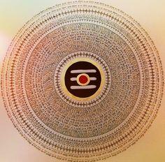 """Shiva Lingam Mandala """"OM Namah Shivaya"""""""