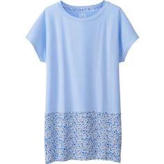 UNIQLO Women Liberty London Short Sleeve Graphic Tunic