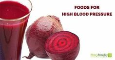 foods for high blood pressure