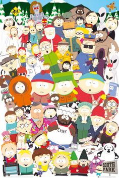Southpark. My #1 all-time favorite show that I can watch the same episodes over and over without ever getting tired of seeing and still laugh for the whole show.