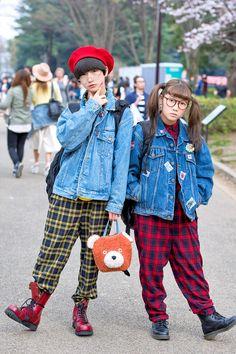 P-Chan and Karin from the Tempura Kidz (Japanese... | Tokyo Fashion