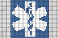 heart beat perler bead pattern - Google Search Loom Beading, Beading Patterns, Embroidery Patterns, Quilt Patterns, Cross Stitching, Cross Stitch Embroidery, Cross Stitch Patterns, Ambulance, Graph Crochet