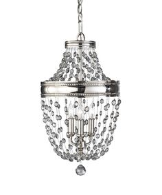 Murray Feiss F2812-3 Malia 12 Inch Mini Chandelier | Capitol Lighting 1-800lighting.com