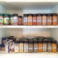 Our spices are beginning to take over spice cabinets everywhere! If you want to stage a similar #spicetakeover - you can save $20 by getting our One Of Everything pack (it's almost like getting one pack for free!) Our new fall line is NOW shipping in the U.S. and in Canada this week! Order by clicking the link in our profile! LINK: http://ift.tt/1gXWK4p #primalpalatespices #organic #nongmo #nonirradiated #kosher #glutenfree