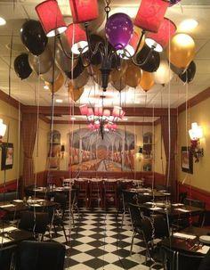 party room as mini-Hindenburg