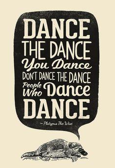 Dance The Dance You Dance... by Victorsbeard, via Flickr