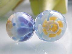 Soft Spring Chrysanthemum Flower beadset 2 by by carolinedousi, $19.00