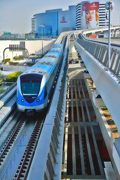 Metro in DUBAI - UNITED ARAB EMIRATES ,