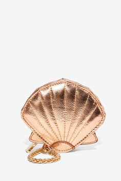 The World is Your Coin Metallic Purse