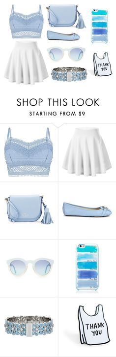 """blue"" by remijia ❤ liked on Polyvore featuring Lipsy, Kate Spade, Michael Kors and Henri Bendel"