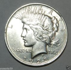 1923 P Peace Dollar. ChBu, below silver scrape rate!
