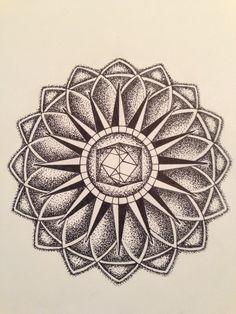 Tesseract Mandala by iEmory