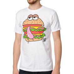 A-Lab Tasty Burger White Tee Shirt