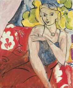 Seated Woman, 1936 - Henri Matisse - WikiArt.org