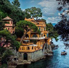 Portofino, İtalya.
