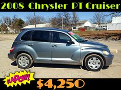 2008 CHRYSLER PT CRUISER $4,250  87K MILES, AUTO, CLEAN, LOADED, POWER EVERYTHING, 4-CYL., GAS SAVER, MUST SEE!! LOCATED AT 701 SW LEE BLVD. LAWTON, OK. PLEASE CALL FOR MORE INFO: 580-585-1662.