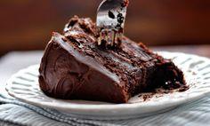 Super-chocolate chocolate cake recipe!