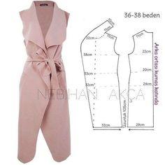 Sensational Tips Sewing Pattern Ideas. Brilliantly Tips Sewing Pattern Ideas. Coat Patterns, Dress Sewing Patterns, Clothing Patterns, Diy Clothing, Sewing Clothes, Fashion Sewing, Diy Fashion, Diy Kleidung, Jacket Pattern