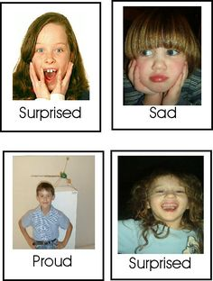 """Emotions """"Go Fish"""" Game An emotion recognition game with free printable cards from Autism Inspiration. This is a fun game that helps work on emotion recognition."""