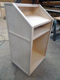 Custom Wood Podium | Custom Handmade Furniture, Burlington, NC