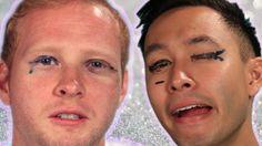 Men Try Liquid Eyeliner Les hommes essaient l'Eyeliner Des conseils pour tous bientôt sur le nouveau site de Rose comme Femme ;-)