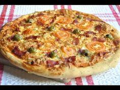 Pizza Ibérica y masa de pizza fácil - YouTube