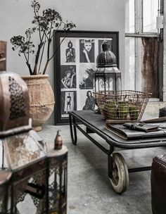 30 Stylish And Inspiring Industrial Living Room Designs | DigsDigs