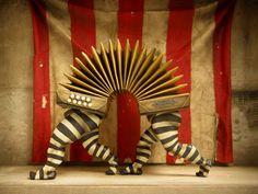 Circus life: The taste of Petrol and Porcelain | Interior design, Vintage Sets and Unique Pieces www.petrolandporcelain.com Palindromos Oscar Sanmartin 11