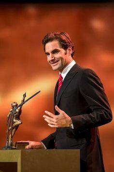 Roger  Federer sports award 2014