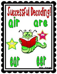 Successful Decoding! air-are-ear-eer by Essential Reading- Language Skills