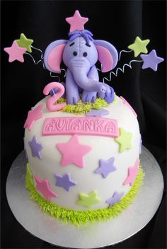 The Disney Cake Blog: Heffalump Cake
