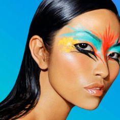 Bird-of-Paradise Makeup