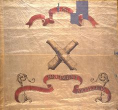 6th Michigan Volunteer Infantry Regimental Battle Flag (Following their redesignated as the 6th Michigan Heavy Artillery in 1863)