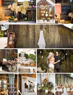 "chic rustic ""inspiration board"""