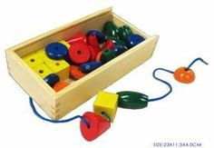Buy Fun Factory - Threading Beads 30 Pieces at Mighty Ape Australia. Contains 30 beads and 3 laces. Ages: 3 Years and up. Fun Factory is a brand committed to providing wooden educational and playtime toys that are saf. 1st Birthday Presents, Birthday Ideas, Old Fashioned Toys, Special Needs Toys, Coordinating Colors, Classic Toys, Toy Store, Fine Motor Skills, Craft Activities