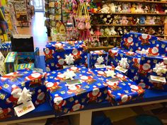 Not only are we your toy experts, we are your gift wrapping experts.  Free gift wrapping with every purchase. Both locations. www.toyzonesa.blogspot.com