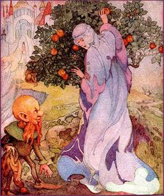 Anne Anderson-Fairy Tale--The Yellow Drawf