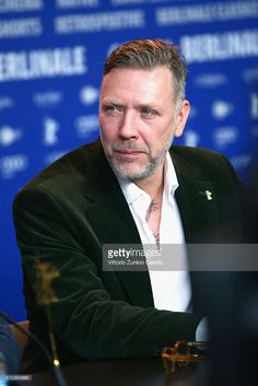 Actor Mikael Persbrandt attends the 'Alone in Berlin' (Jeder stirbt fuer sich) press conference during the 66th Berlinale International Film Festival Berlin at Grand Hyatt Hotel on February 15, 2016 in Berlin, Germany.