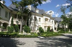 Contact Keller Williams Luxury Homes Agent Gary Gilbert to see this home or to buy or sell other Houston luxury homes @ Houses In America, Panic Rooms, Mansions For Sale, Expensive Houses, Stone Houses, Big Houses, Estate Homes, Luxury Homes, Architecture Design