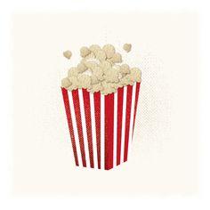 National Popcorn Day Illustration by ulalopata