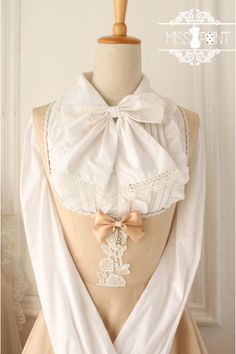 Cheap Champagne Cotton Sleeveless Breast Care Classic Lolita Jumper Dress - Fashion Lolita Dresses & Clothing Shop