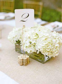 Wedding reception centerpiece idea; Featured Photographer: Aaron Delesie Photography