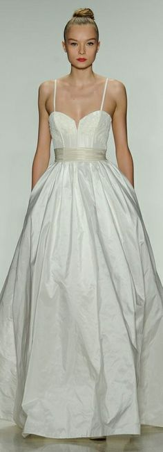 Amsale Spring 2014 Wedding Dress