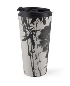 """""""Bamboo and Rock"""" Travel Mugs by aplcollections   Redbubble"""