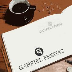 Criação de logotipo para o cantor sertanejo Gabriel Freitas por Foco Design & Gráfica.